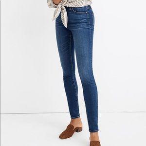 NWT Madewell Petite Curvy High Rise Skinny Jeans